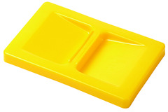 Deckel zu Kleinbehälter, gelb