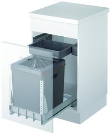 Poubelles système coulissant MÜLLEX BOXX40-R / EURO BOXX40-R