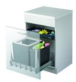 Secchio per rifiuti sistema estraibile MÜLLEX EURO BOXX55/60-R