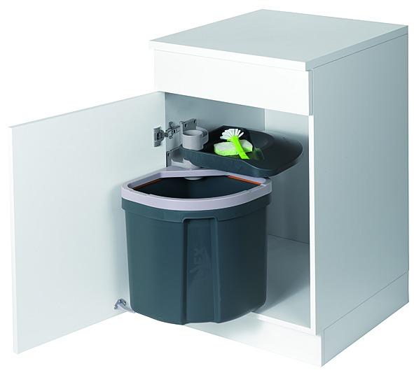 Secchio per rifiuti sistema girevole MÜLLEX FLEXX / EURO FLEXX