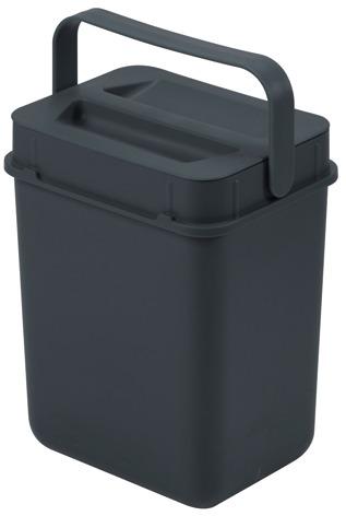 BOXX seau vert, matière synthétique gris