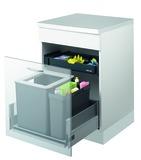 Systeme de déchets MÜLLEX EURO ZK-BOXX55/60 pour BLUM Tandembox