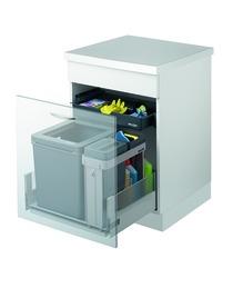 Sistema rifiuti MÜLLEX ZK-BOXX 55/60 BIO per HETTICH AvanTech