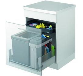 Systeme de déchets MÜLLEX ZK-BOXX60 BIO pour HETTICH ArciTech