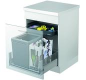 Sistema rifiuti MÜLLEX ZK-BOXX55/60 City per BLUM Tandembox