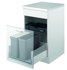 Sistema rifiuti MÜLLEX ZK-TRIOXX 2 x 16, 40/45/50 per BLUM Tandembox