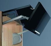 Ferramenta per ante ribaltabili verticalmente senso elettrico, 100-240 Volt