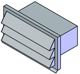 Fassadengitterkasten