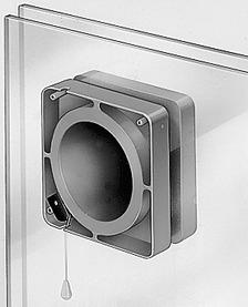 Ventilateurs HELIOS Accessoire pour montage sur fenêtre