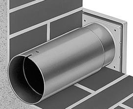 Mini-ventilatori HELIOS Kit di montaggio a parete