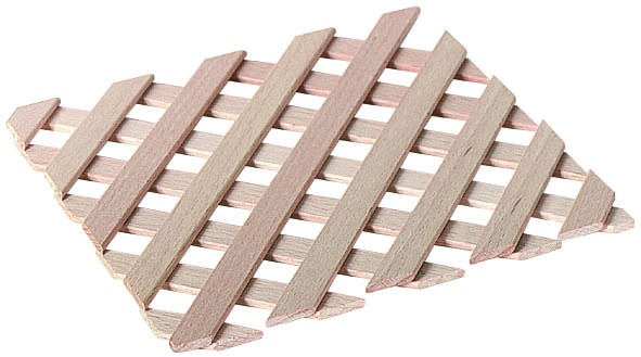 Ziergitter aus Holz