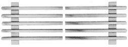 Traversine d'incastro per griglie di ventilazione