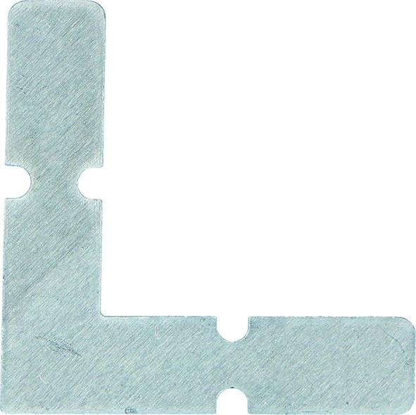 Eckverbinder zu Z-Rahmenprofile