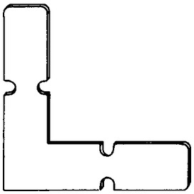 Congiunzioni per angoli per profilo per telai a Z