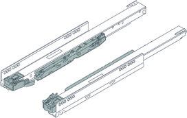 Korpusschiene 750/753 BLUM LEGRABOX BLUMOTION S MP / IP