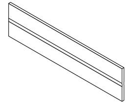 Profil séparateur BLUM ORGA-LINE