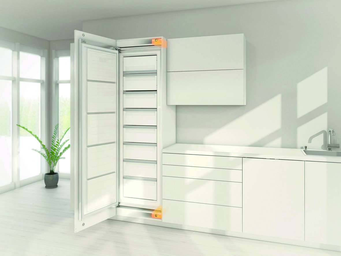 Antriebseinheit BLUM SERVO-DRIVE flex für Kühl- und Gefriergeräte und Geschirrspüler