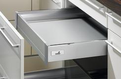 Cassetto interno sistema di spondine HETTICH ArciTech, argento, altezza spondine 70 mm