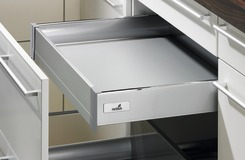 Innenschubkasten Zargensystem HETTICH InnoTech, silber, Zargenhöhe 70 mm