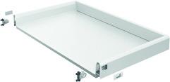 Tiroir complet pour tiroir sous cuisinière HETTICH ArciTech, blanc