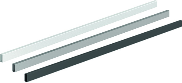 Querreling / Reling für Aluminiumfront HETTICH ArciTech / OrgaStore 400