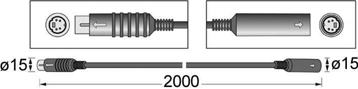 Verlängerung Anschlussleitung HETTICH easys