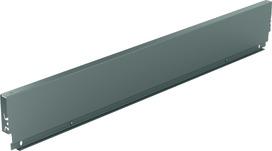 Stahlrückwand HETTICH ArciTech, anthrazit, Systemhöhe 126 mm