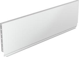 Pannello posteriore in acciaio HETTICH ArciTech, bianco, altezza del sistema 250 mm