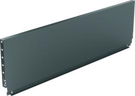 Paroi arrière en acier HETTICH ArciTech, anthracite, hauteur du système 250 mm