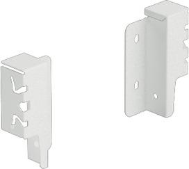 Giunzione per pannello posteriore HETTICH ArciTech, bianco, altezza del sistema 94 mm