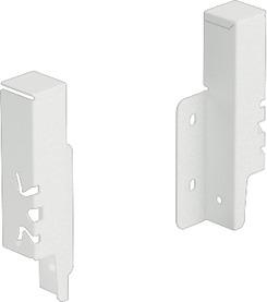 Rückwandverbinder HETTICH ArciTech, weiss, Systemhöhe 126 mm