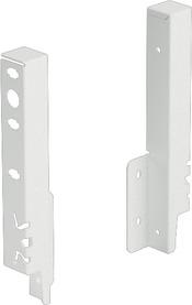 Giunzione per pannello posteriore HETTICH ArciTech,bianco, altezza del sistema 186 mm