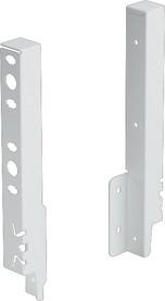 Raccord de paroi arrière HETTICH ArciTech, blanc, hauteur du système 218 mm