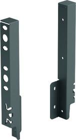 Giunzione per pannello posteriore HETTICH ArciTech, antracite, altezza del sistema 218 mm