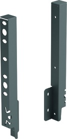 Rückwandverbinder HETTICH ArciTech, anthrazit, Systemhöhe 250 mm