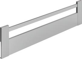 Frontale HETTICH ArciTech, argento, altezza del sistema 186 mm