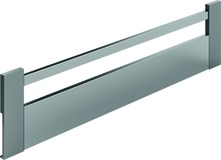 Frontale HETTICH ArciTech, champagner / effetto inox