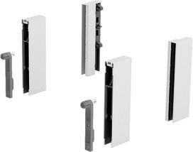 Adattore DesignSide HETTICH ArciTech, bianco, altezza del sistema 218 / 250 mm