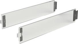 DesignSide verre HETTICH ArciTech hauteur du système 186 / 218 mm