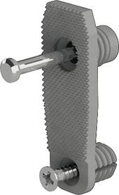 Dispositivo di fissaggio del frontale per spondina HETTICH ArciTech