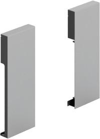 Verbinder für Front HETTICH ArciTech, silber, Systemhöhe 126 mm