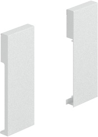 Raccord de façade HETTICH ArciTech, blanc, hauteur du système 126 mm
