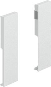 Giunzione per frontale HETTICH ArciTech, bianco, altezza del sistema 186 mm