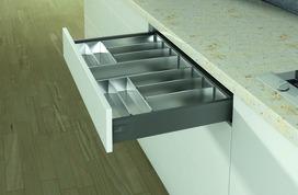 Casiers pour couverts pour tiroirs HETTICH OrgaTray 600