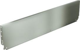 Stahlrückwand HETTICH ArciTech, champagner / edelstahlfinish, Systemhöhe 186 mm