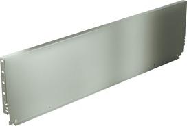 Pannello posteriore in acciaio HETTICH ArciTech, champagner / effetto inox, altezza del sistema 218 mm