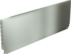 Paroi arrière en acier HETTICH ArciTech, champagner / inox-finish, hauteur du système 282 mm