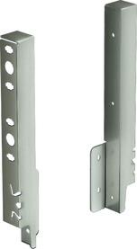 Giunzione per pannello posteriore HETTICH ArciTech, champagner / effetto inox, altezza del sistema 218 mm