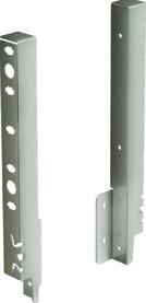 Giunzione per pannello posteriore HETTICH ArciTech, champagner / effetto inox, altezza del sistema 250 mm