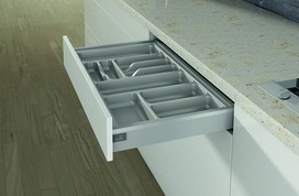 Casiers pour couverts pour tiroirs HETTICH OrgaTray 400